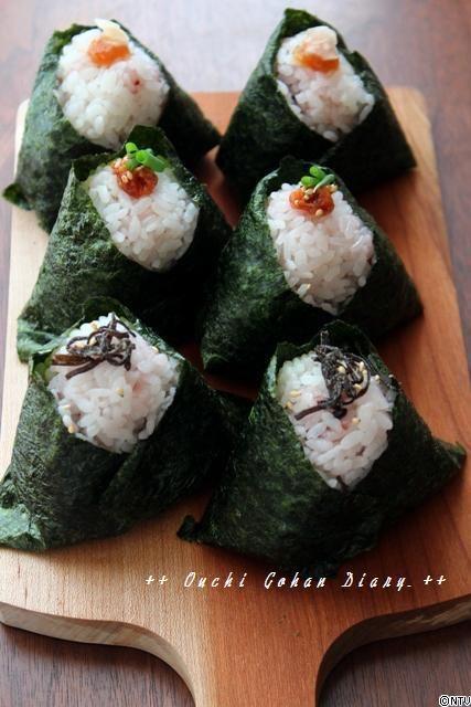 Onigiri, Japanese Rice Balls おにぎり