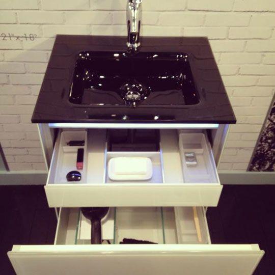 How To Organize Your Bathroom Vanity: Best 25+ Compact Bathroom Ideas On Pinterest