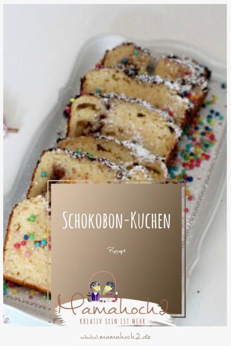 schnell und lange frisch: Schokobon Kuchen für den Kindergeburtstag