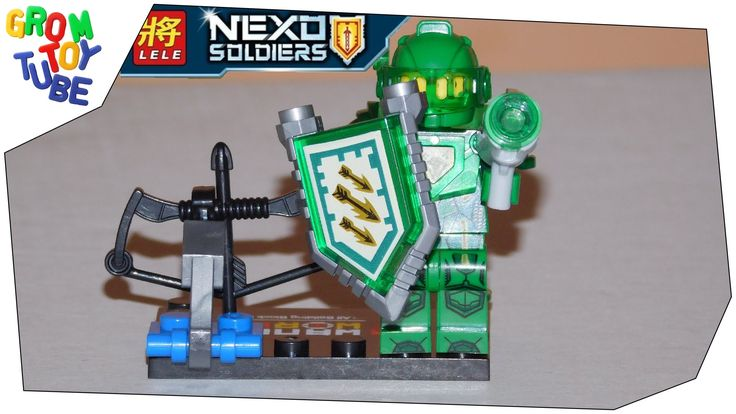 UNBOXING NEW LELE NEXO SOLDIERS NEXO KNIGHTS AARON