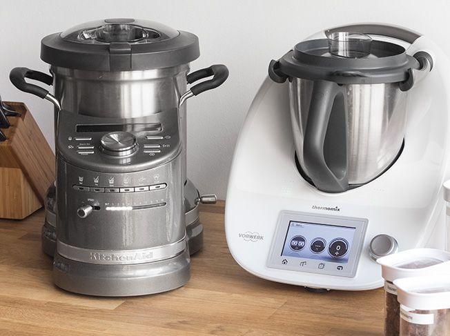 Im Test: KitchenAid Cook Processor vs. Thermomix TM5