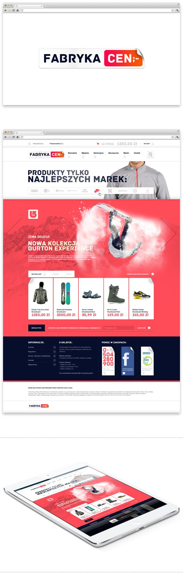 Price Factory by CHALLENGE, via Behance