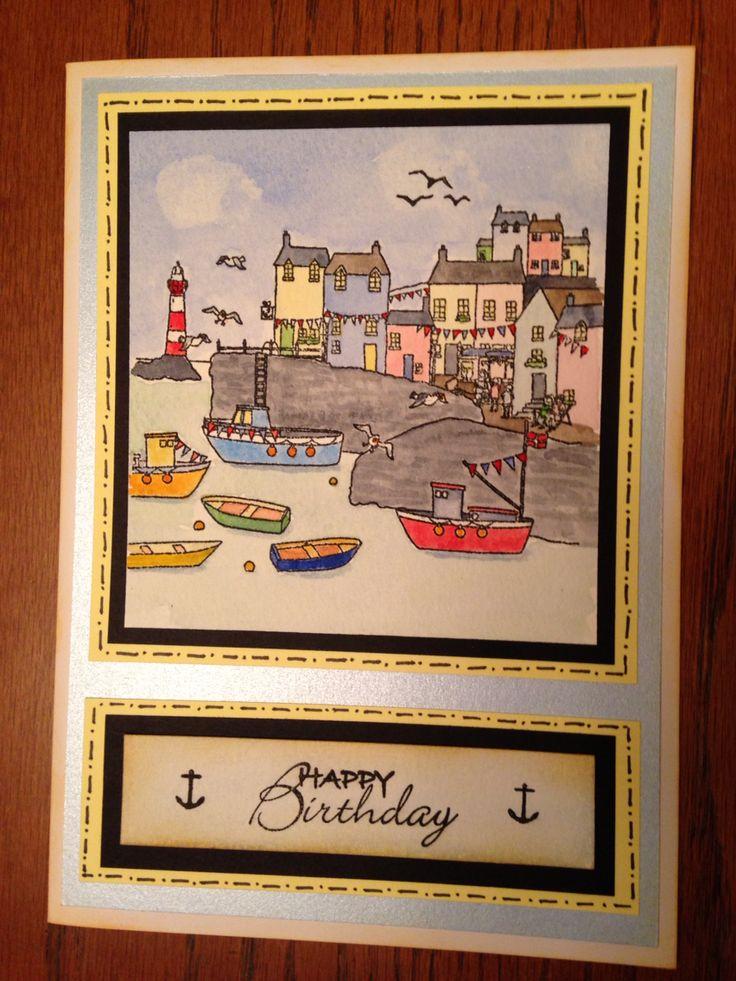 Hobbyart harbour stamp
