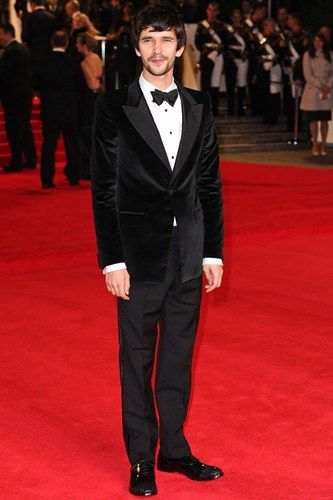 Ben Whishaw has become a bit of a heartthrob since his role as Q in Skyfall.