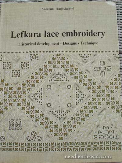 Lefkara Lace Embroidery by Androula Hadjiyiasemi. Lefkara was developed in Cyprus