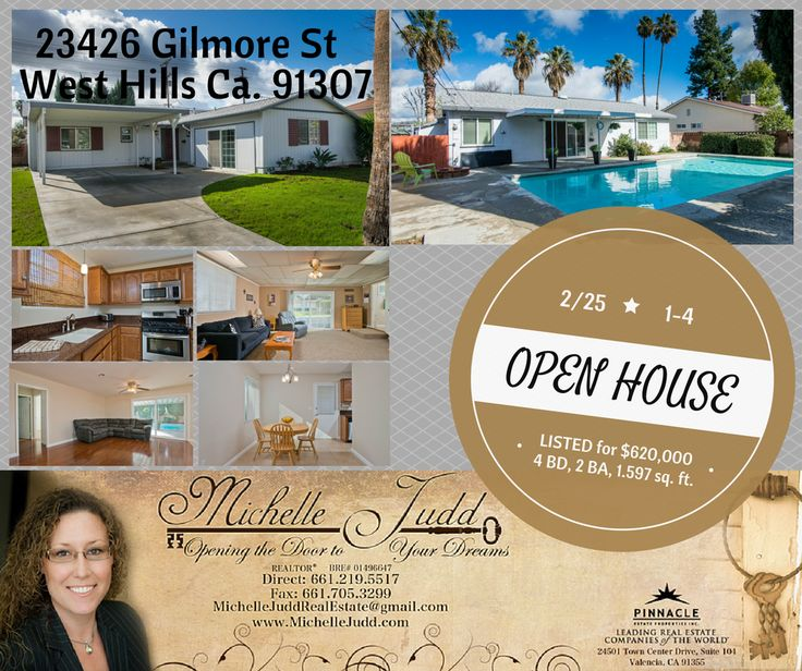 OPEN HOUSE TODAY FROM 1 4PM!! STOP BY!!! #realestate