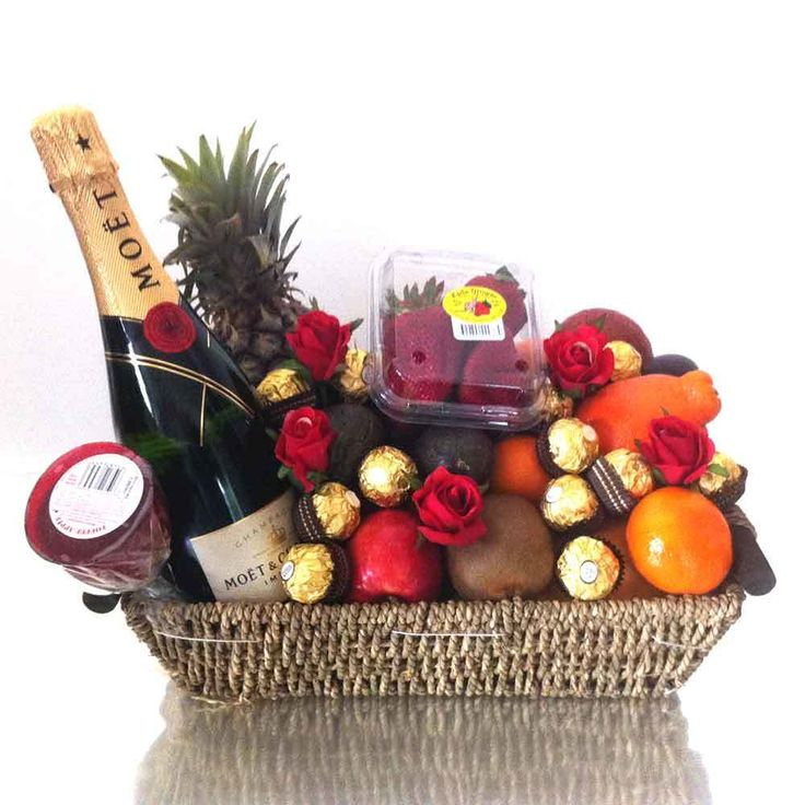 iGift Fruit Hampers - Luxury Gift Hampers with Moet Champagne   Chocolates, $139.00 (https://igiftfruithampers.com.au/fruit-baskets/luxury-gift-hampers-with-moet-champagne-chocolates/)