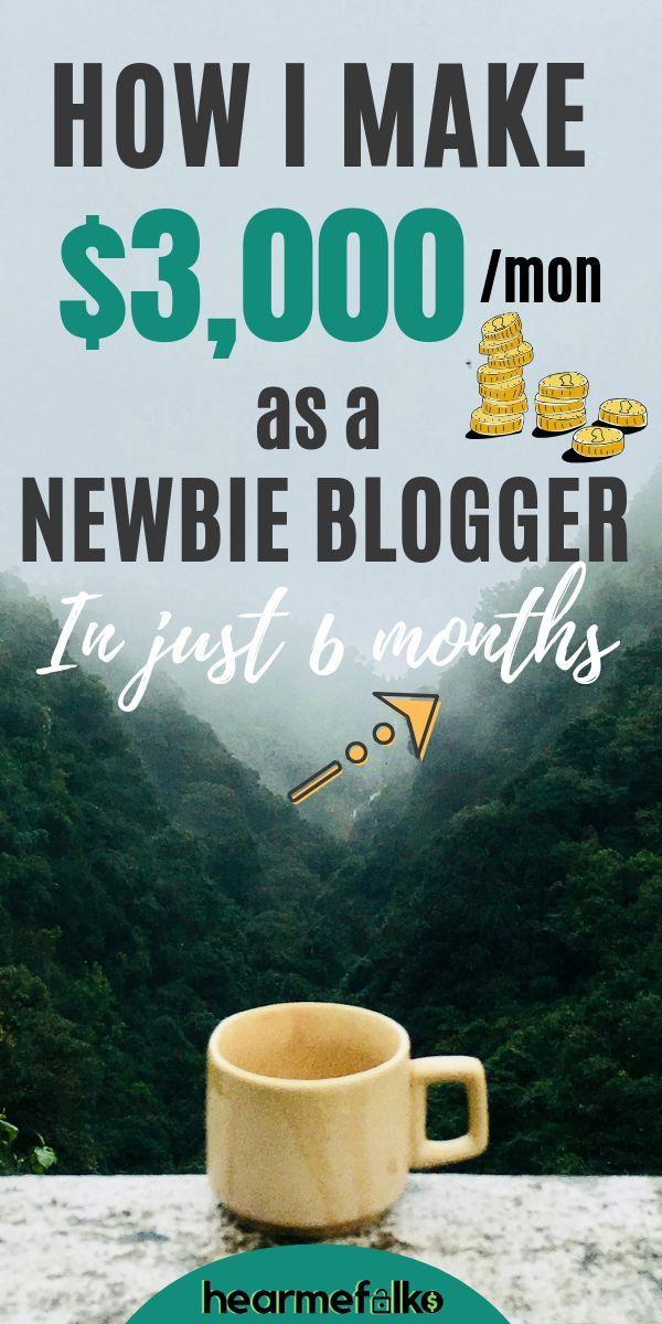 Wie verdient dieser Blogger-Neuling 3000 US-Dollar pro Monat in nur 6 Monaten?  … – All About Money