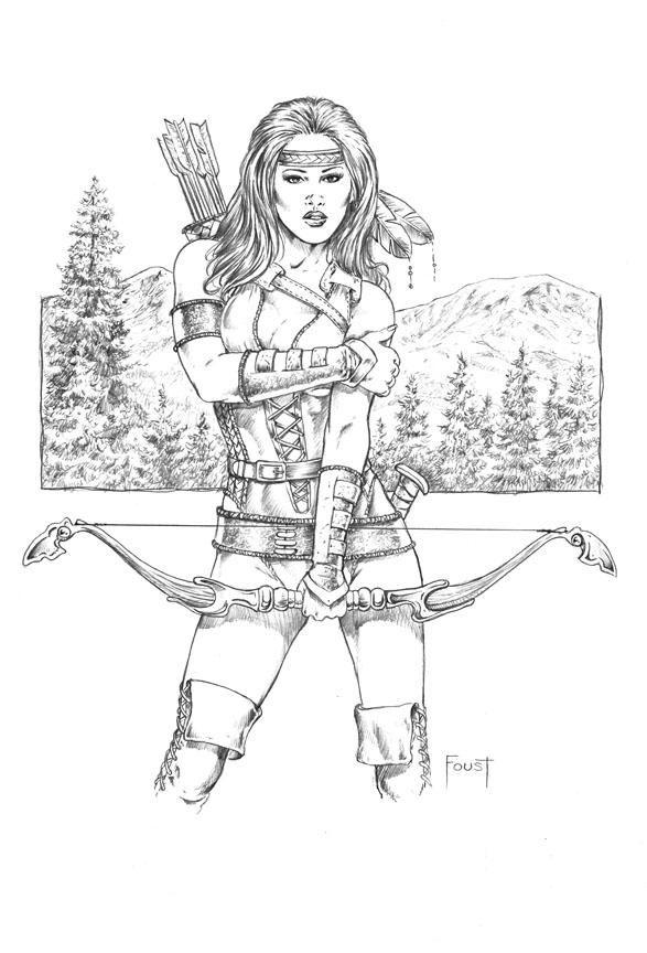 Mirella Mountain Ranger By Mitchfoust Com Imagens Desenhos
