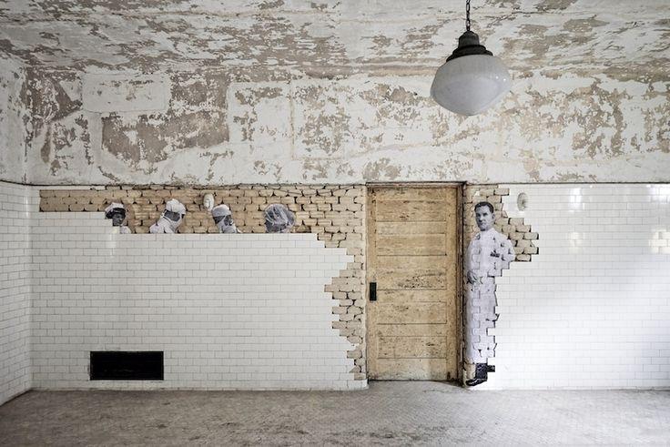 Unframed – JR at Ellis Island | iGNANT.de