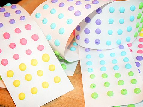 Homemade candy buttons! An oldie-but goodie! http://www.ivillage.com/make-your-own-halloween-candy/3-a-546191