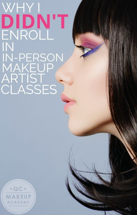 Find out why #QCMakeupAcademy Student Ambassador Whitney Conn decided to learn makeup online instead of enrolling in an in-person makeup school, and the differences between the two! #makeup #makeupartist #makeupschool #learnmakeup #makeupcourses #onlinemakeupcourses #onlinemakeuptraining #beautyblog #makeupcareer
