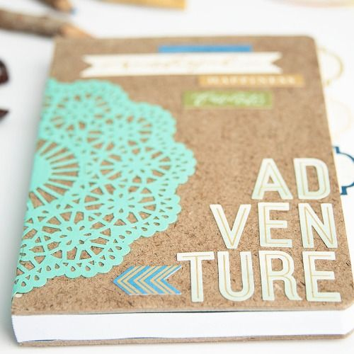 Start an adventure with a special journal that you make yourself!