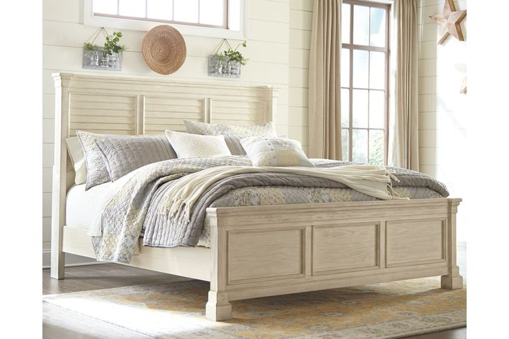 Best Bolanburg King Louvered Bed Ashley Furniture Homestore 640 x 480