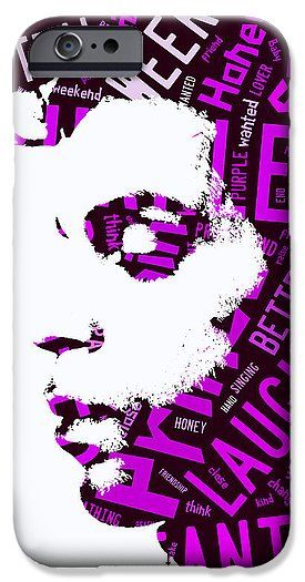Prince IPhone 6s Case featuring the mixed media Prince Purple Rain Lyrics by Marvin Blaine
