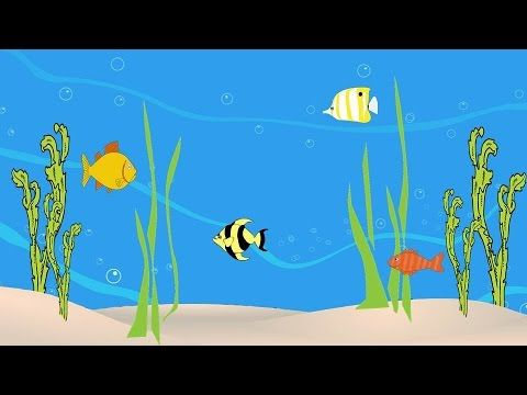 Мультик про рыбок