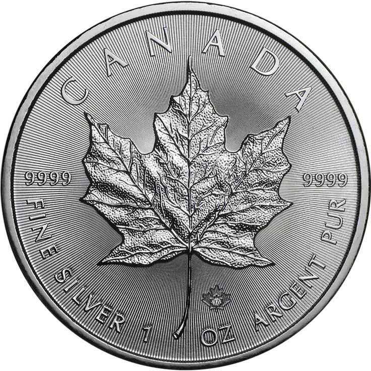 This 2017 Canadian Maple 1oz Silver Coin features a small privy mark which is micro-engraved with the number 17, this is visible under magnification. On the reverse of the Maple coin is the word 'CANADA' as well as a beautiful Maple leaf design, along with details of the the weight and fineness. The obverse of the coin bears an effigy of Queen Elizabeth II, the year-date and the monetary denomination. Each coin weighs 31.10g and is 999.9 Fine Silver. Minted by the Royal Canadian Mint…