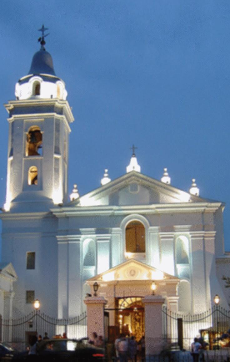 Fachada de Basílica Nuestra Señora del Pilar - Recoleta- Buenos Aires