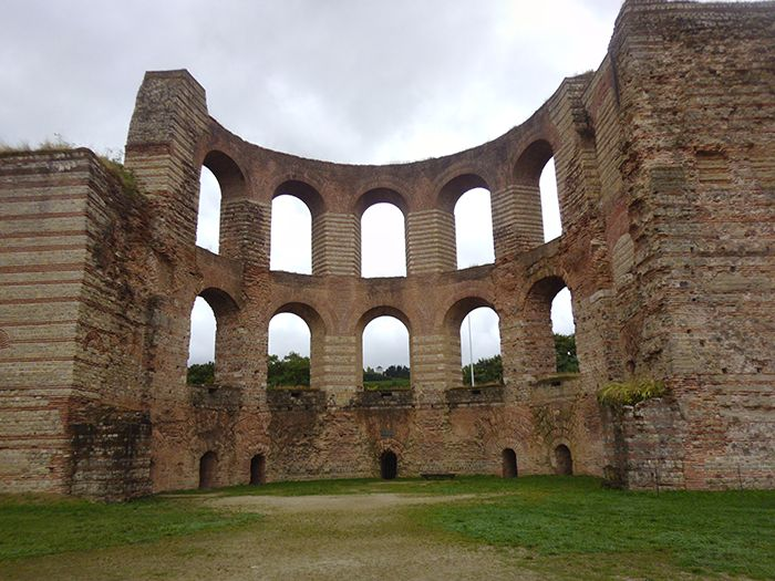 Trier, Germany Roman Baths. These have been greatly restored over the last 40 yrs.