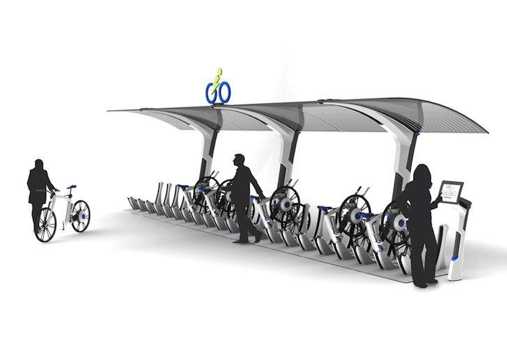 i-Go eBike Concept Powers You Through the City and Charges You...