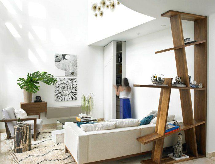wohnzimmer dekorieren blumendekoration innendesign