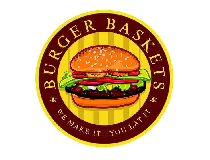 Burger Baskets Logo Design #logo #logodesign