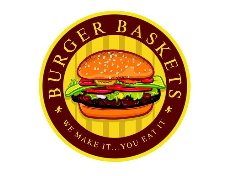 Burger Baskets Logo Design #logo #logodesign