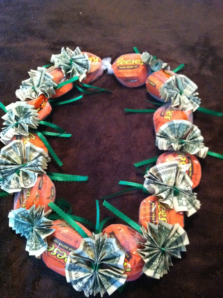 Money Amp Candy Lei Arts And Crafts Pinterest Leis