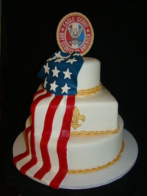 Maybe one day soon I'll need a cake like this.Chocolates Cake, Eagles Court, White Chocolate, Boys Scouts, Eagles Ceremonies, Scouts Court, Eagles Scouts, Scouts Stuff, Scouts Cake