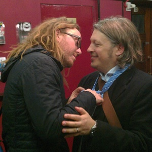 Richard Herring (of Lee and Herring) Postcast FEAT. Tim Minchin