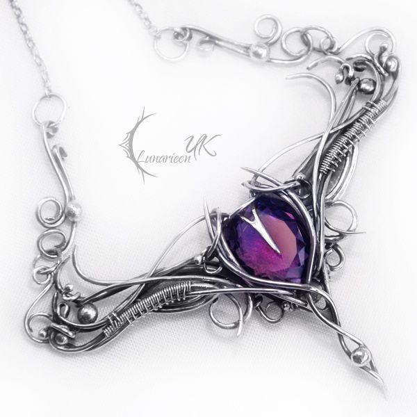 NANTILUX - silver and amethyst by LUNARIEEN on deviantART