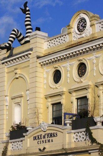 Duke of York's cinema, Brighton. Sofa seating on the balcony. via RoughGuides.com