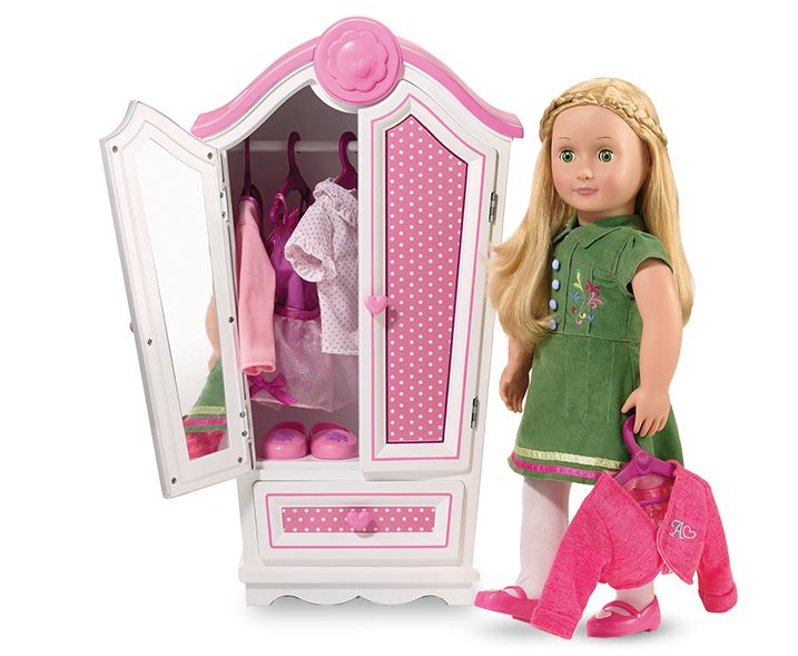 Polka Dot Armoire Our Generation Dolls Our Generation Dolls