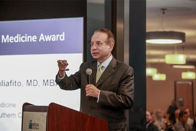 Dr. Carmen Puliafito honored for contributions to physician training and patient care | USC Keck School of Medicine