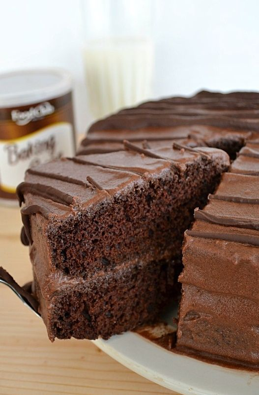 Best Ever Death-By-Chocolate Layer Cake - 4u1s