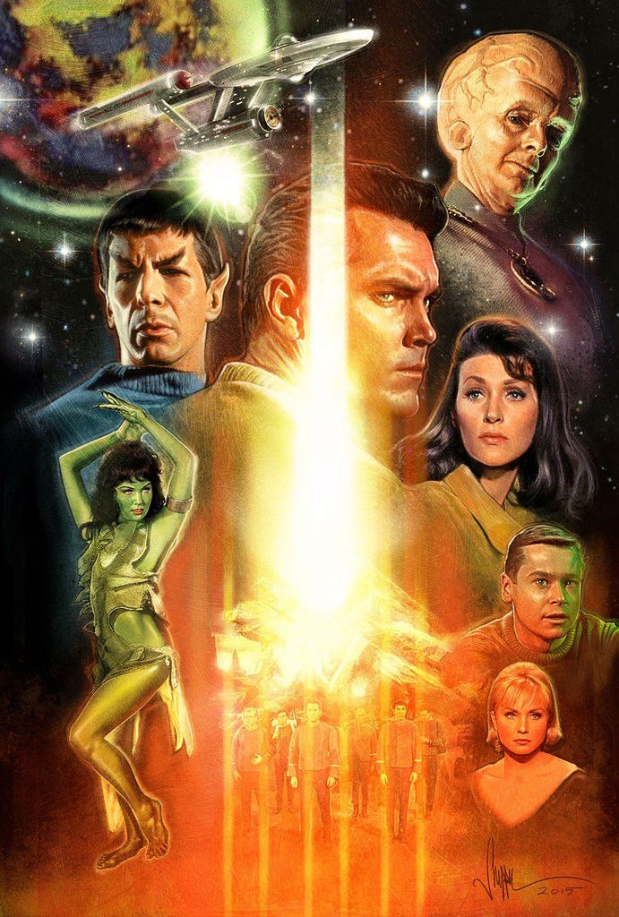 """Star Trek Inception: The Cage"" by Paul Shipper - Hero Complex Gallery"
