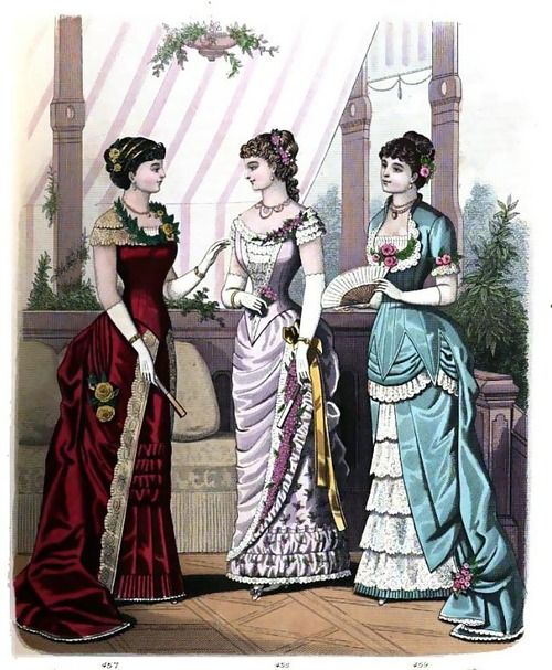 The London and Paris Ladies' Magazine of Fashion, 1881.