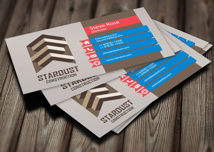 37 best business cards 5 fiverr images on pinterest business create modern cut out business cards reheart Image collections