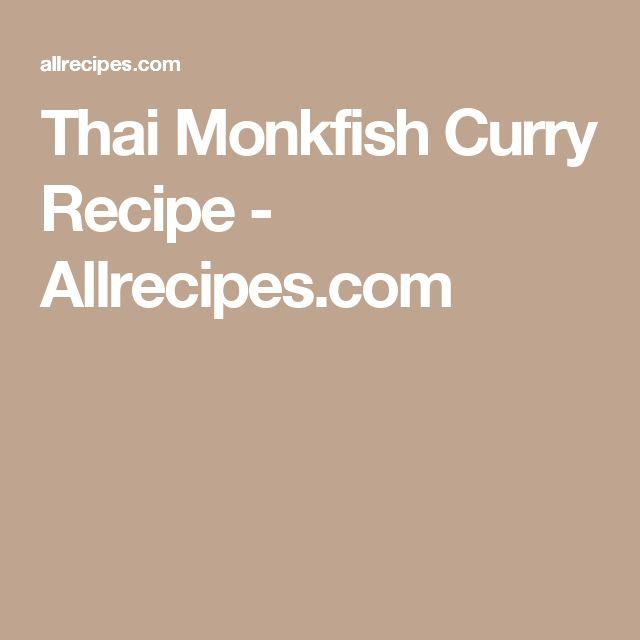 Thai Monkfish Curry Recipe - Allrecipes.com