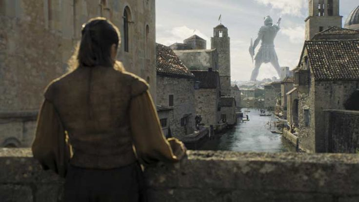 Game of Thrones director says Arya wasn't scheming, she let her guard down in Braavos