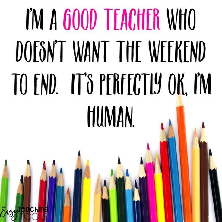 Even Good Teachers Get the Sunday Night BluesEven Good Teachers Get The Sunday Night Blues.  Do you?  It's ok, you're human!