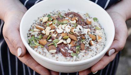 get stir crazy with oatmeal breakfast recipes recette. Black Bedroom Furniture Sets. Home Design Ideas