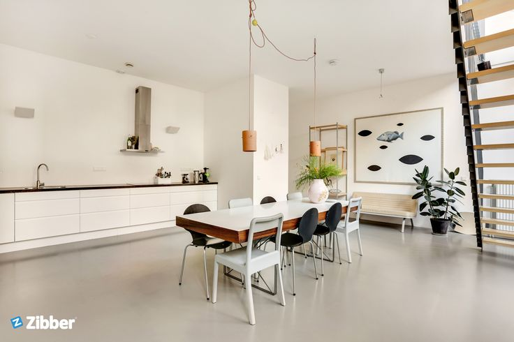 Gorgeous white modern kitchen mixed with lots of inspiration and eyecatchers l Zibber