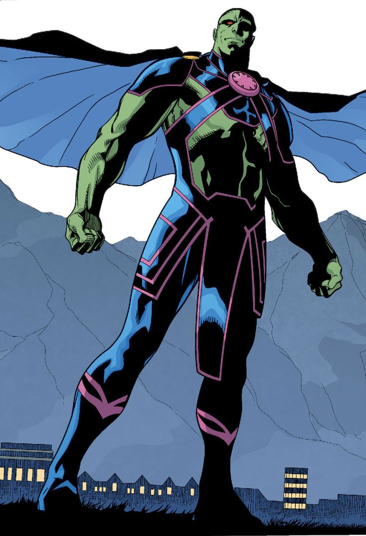 Martian Manhunter by Aaron Lopresti