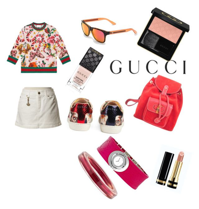 """❤❤"" by mariuccia1 on Polyvore featuring Gucci and gucci"