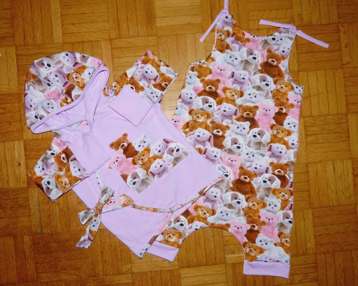 baby harem romper and side tie shirt