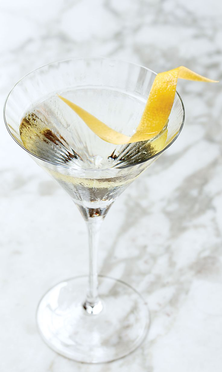 This potent take on a martini sports gin *and* vodka. Proceed with caution.