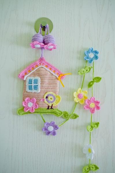 Wunderschönes Vogelshäuschen Verschönert Jedes Fenster Oder Babybett, Jede  Tür Oder Wand Im Wohnzimmer Oder Kinderzimmer