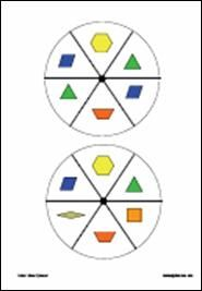 everyday math pattern block template - 152 best images about 3rd grade math lessons on pinterest