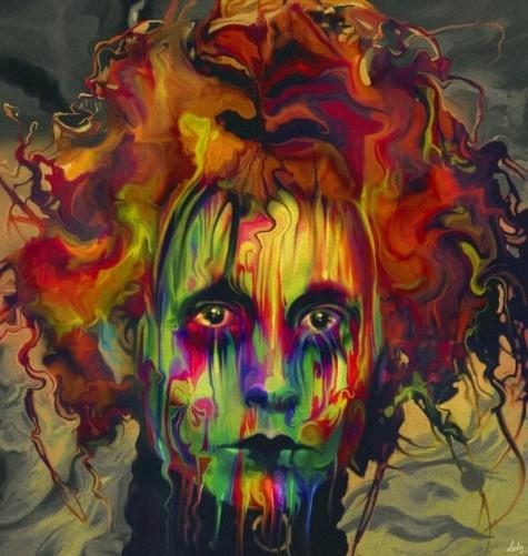 """Edward Scissorhands"" | Artist: Nicky Barkla | Using a variety of materials"